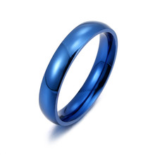 Rose Gold Stainless Steel Rings For Women Jewellery Gold Ring Men Couple Engagement Rings Men Wedding Promise Ring Female Gifts(China)
