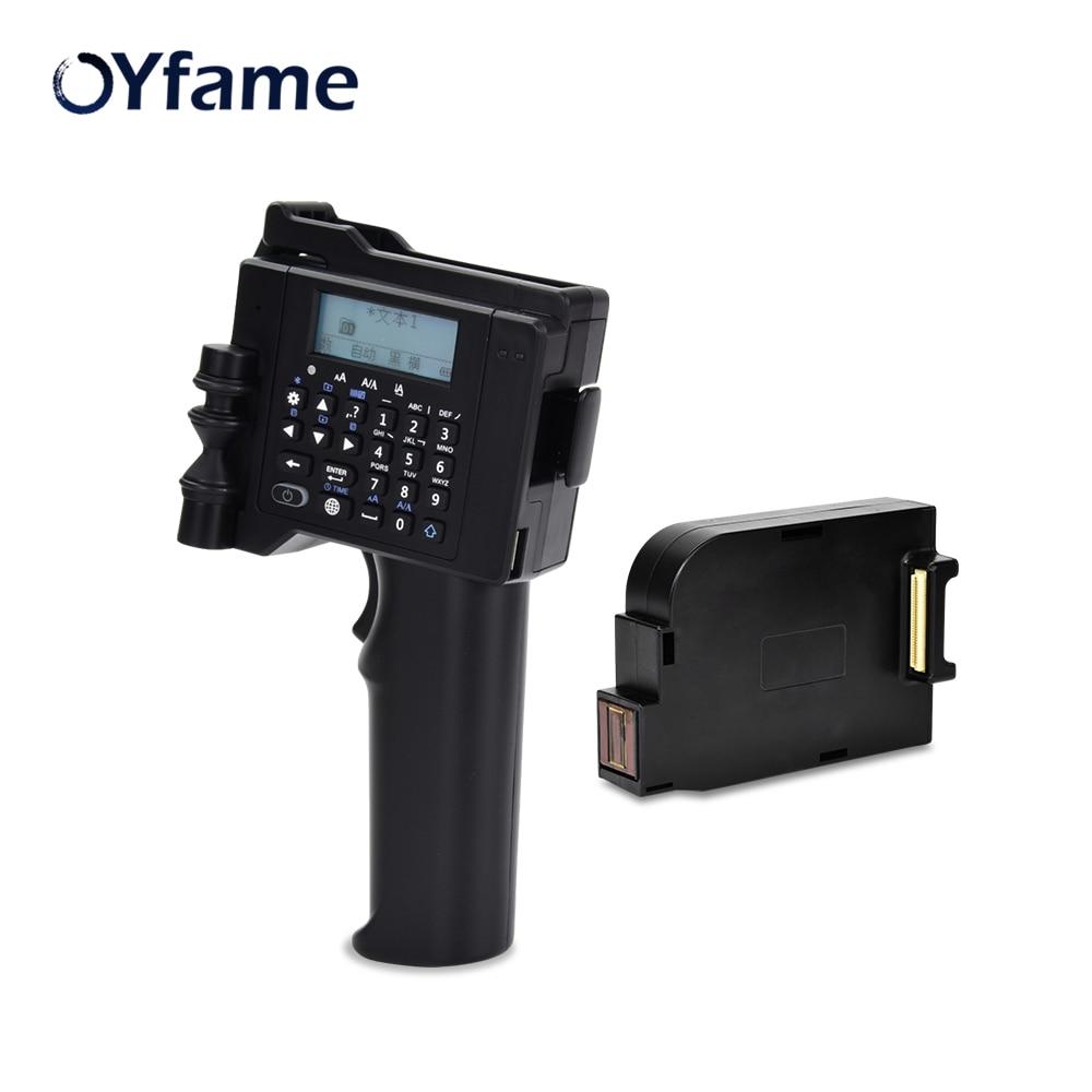 Impressora de Mão Impressora para qr Impressora para Papel Oyfame Impressora Portátil Mini Código Carta Plástico Madeira Alumínio Vidro Pvc Cartão