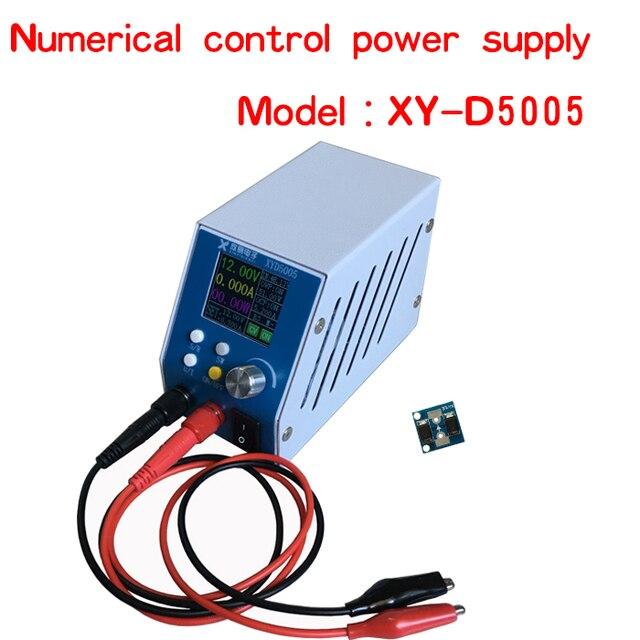 تيار مستمر تيار مستمر محول فرق الجهد CC CV وحدة الطاقة الرقمية قابل للتعديل موفر طاقة تنظيمي 6 ~ 55 فولت 5A مختبر متغير امدادات الطاقة