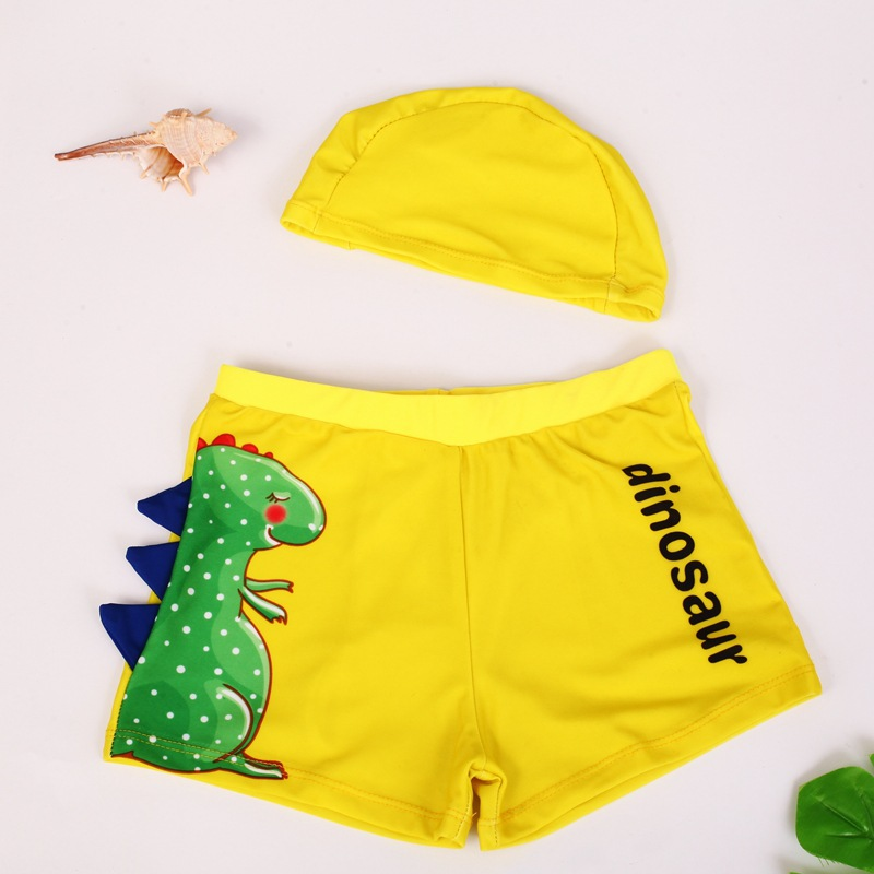 CHILDREN'S Swimming Trunks BOY'S Big Boy Boxer Swimming Trunks Baby Two-piece Swimsuits Boy Tour Bathing Suit Hooded 3-10-Year-O
