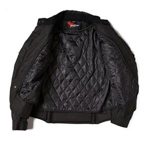 Image 4 - Мужская теплая мотоциклетная куртка с принтом в виде черепашек