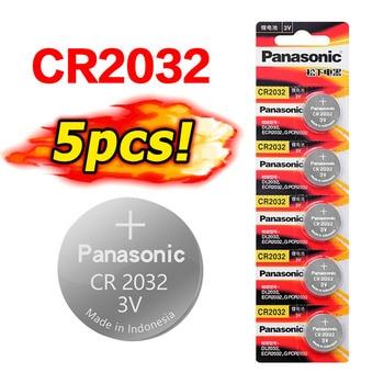 5 sztuk oryginalny cr 2032 brand new bateria do PANASONIC cr2032 3v przycisk komórki monety baterie do zegarka komputer zabawka