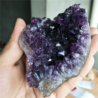 Uruguay high quality raw natural amethyst cluster crystal reiki chakra healing energy druzy crystal point mineral