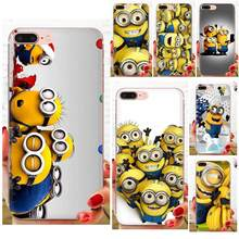 New Minion Phone Accessories Case For Huawei Nova 2 V20 Y3II Y5 Y5II Y6 Y6II Y7 Y9 G8 G9 GR3 GR5 GX8 Prime 2018 2019(China)