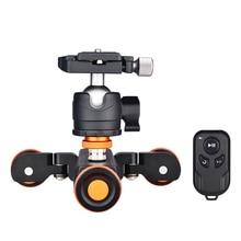 Andoer L4 PRO Motorisierte Kamera Video Dolly Elektrische Track Slider Drahtlose Fernbedienung Kugelkopf Adapter für Canon Nikon Sony