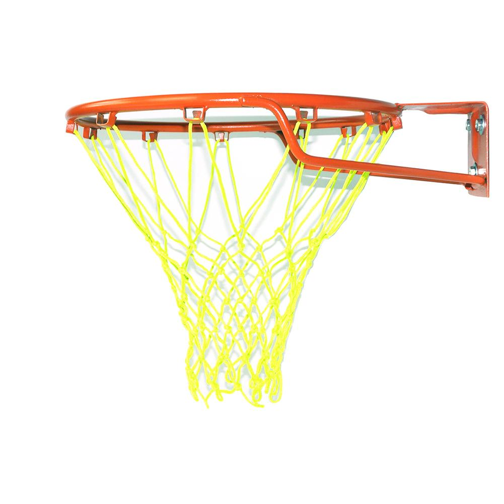 Luminous Outdoor Glowing Net 2019 Basketball Net Nylon Replacement Standard Size Net Green/yellow Sports Basketball Hoop Mesh