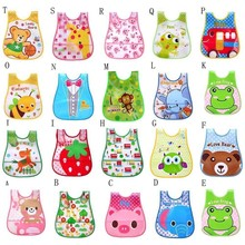 baby bibs Cute Kid Infant Baby Soft Cartoon Bib Waterproof Saliva Dripping Bibs Cotton 1-4Years Old Infant Burp Cloths Feeding