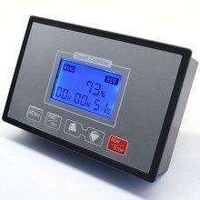 LCD akıllı dijital ekran 0 ~ 100% ayarlanabilir 60A PWM DC 12V 24V 36V 48V Motor hız kontrol zamanlama geri dönüşümlü