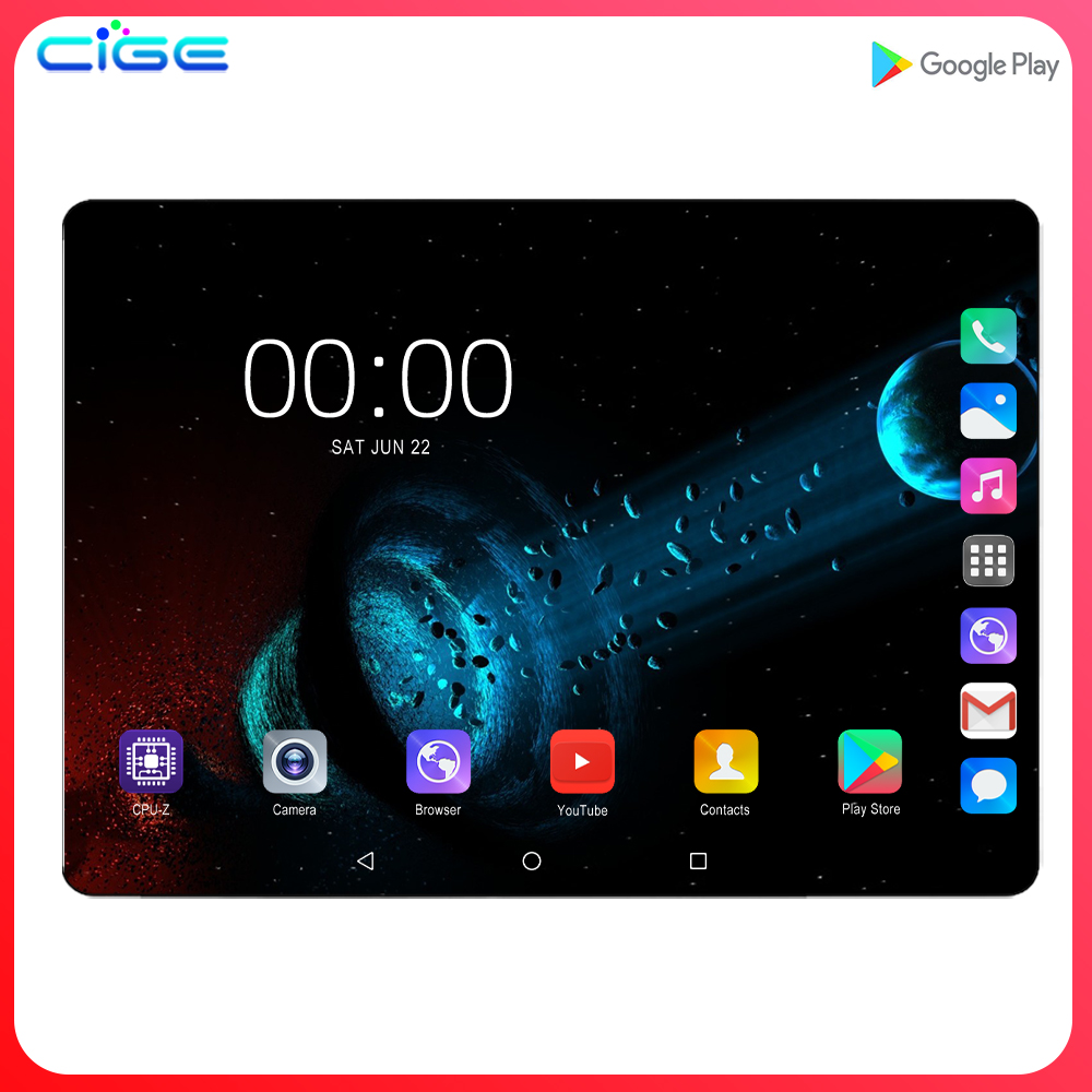 X20 Tablet Super Tempered 2.5D Glass Screen 4G LTE 10 Inch Tablet Pc Octa Core 6GB RAM 128GB ROM WIFI Android 9.0 GPS Tablets