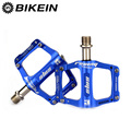 BIKEIN велосипедные алюминиевые педали с ЧПУ MTB велосипедные 9/16 дюйма ультралегкие Плоские Педали 3 подшипника 5 цветов аксессуары для горного ...