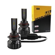 gztophid new car styling headlight 3 inches bixenon lens koito q5 hi lo bifocal projector lens for h1 h4 h7 h11 9005 9006 2x H1 H3 H4 H7 H8/H9/H11 9005 9006 LED Car Headlight Hi/Lo Beam Kit Power Bulb 6000K White Light