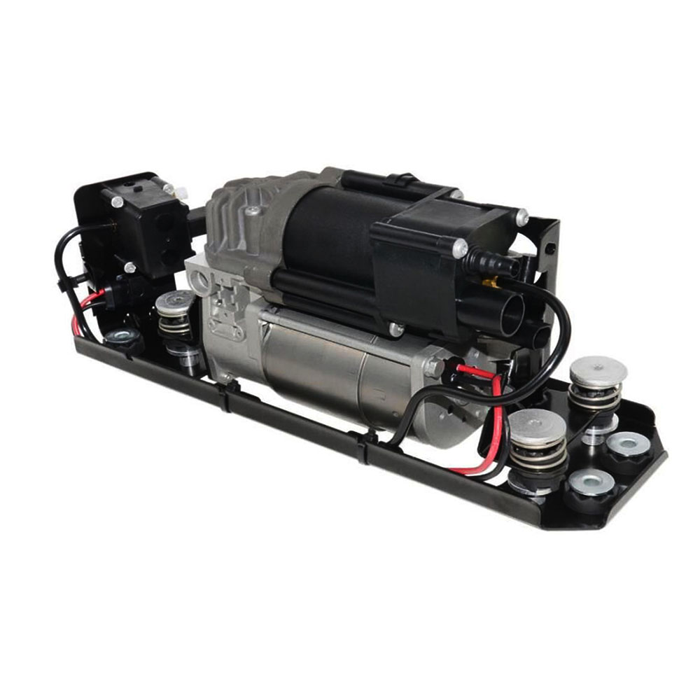 Image 2 - New Air Suspension Compressor With Suspension Valve Bracket For BMW F01 F02 F03 F04 730I 740i 740Li 750i 750Li 760Li 37206864215Shock Absorber Parts   -