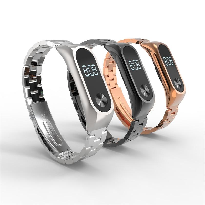 Screwless Mi Band 2 Strap For Xiaomi Mi Band 2 Bracelet