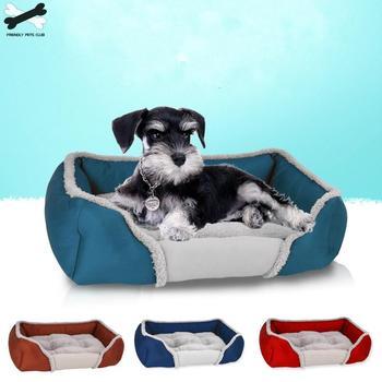 Łóżko dla zwierząt kreatywne dla zwierząt łóżko dla psa i kota ciepłe produkty dla zwierząt miękkie łóżko dla zwierząt ciepły i wygodny dom dla zwierząt domowych tanie i dobre opinie Pranie ręczne 100 bawełna Łóżko maty 0 8KG Oddychająca Stałe 3615CY