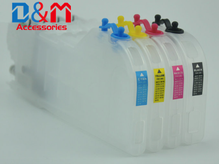 1Set Refillable Ink Cartridge With Chip LC3011 LC3013 For Brother MFC J491DW J497DW J890DW J895DW DCP J572DW J772DW J774DW Tank