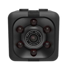 AMS-Camera Sq11 Pro Mini Camera Hd 1080P Night Visual Motion Digital Mini Aerial Camera Black Plastic(China)