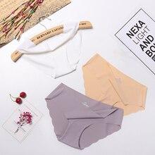 3pcs lot Seamless Panties Set Underwear Female Comfort Intimates Fashion Lingerie Women Briefs Low Rise Panties