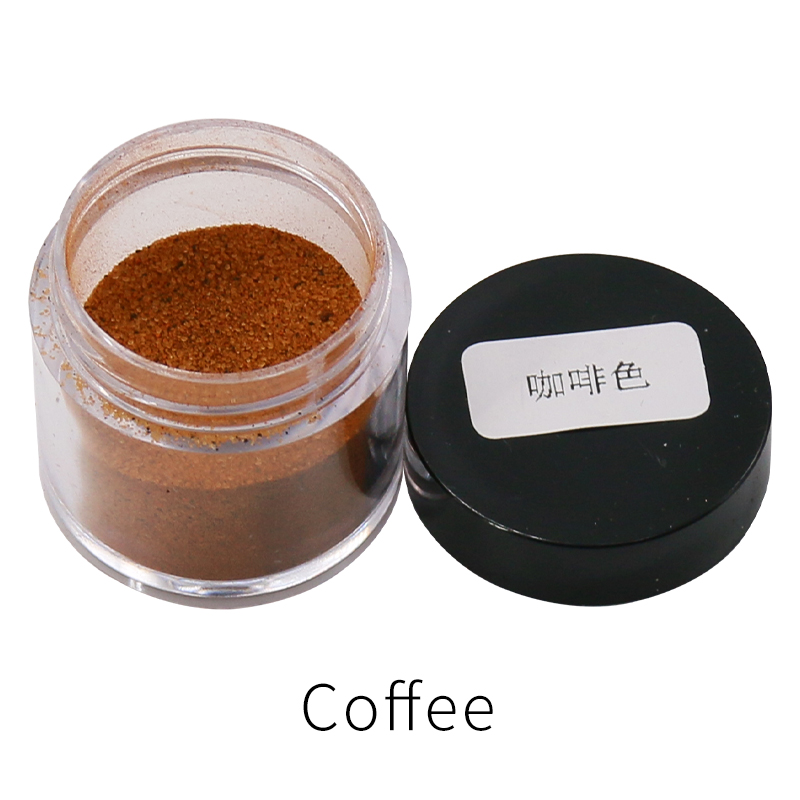 Coffee Fabric Dye Powder Pigment Dye For Clothing Renovation In Cloth Feather Bamboo Dyestuff Acrylic Paint Powder 10g/bottle