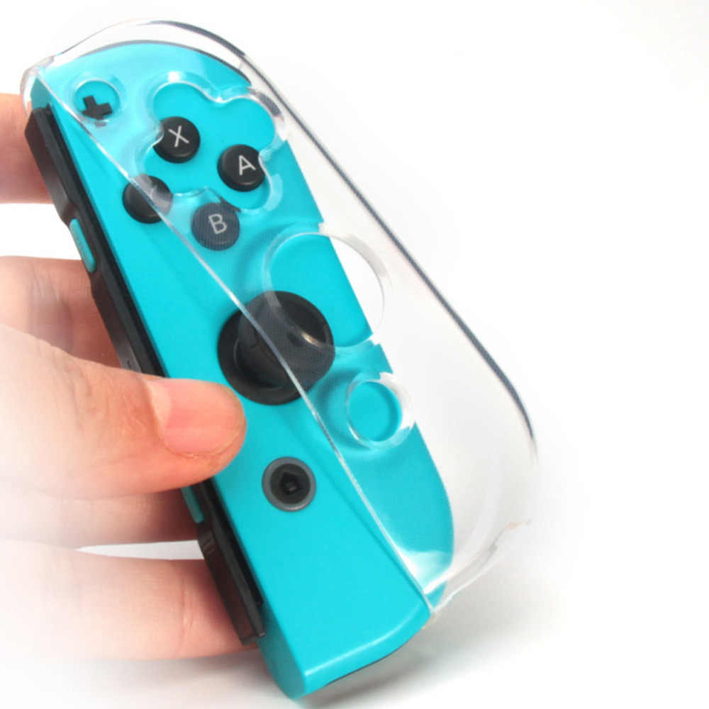 Cases Anti-Scratch Ultra-Thin Tpu Clear Protective Cover Case For N-Switch Joy-Con Shockproof Protective Games & Accessories