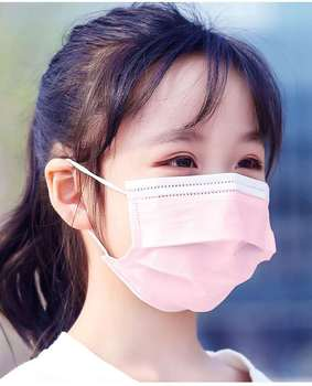 50/100/200 PCS Kid Face Mask Protective Mouth Mask Children Mask Disposable Non-Woven 3 Layers Anti-Virus Mascarilla Earloop 1