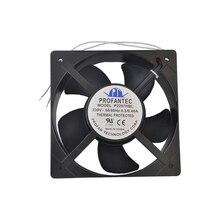 Taiwan PROFANTEC P2207HBL AC220V 20572 20CM 0.3A Heat Exchanger Charging Pile Laser Equipment Cooling Fan
