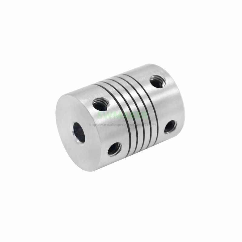 1pcs 5x8mm giunto Elastico per Reprap Creality Ender-3 Ender-3S o CR-10 CR-10 pro 3D stampante 5mm A 8 millimetri Router Connettore
