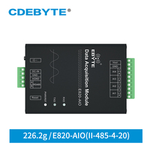 Analog Erwerb Modul 4 Kanal 4 20mA Modbus RTU E820 AIO (II 485 4 20) 433MHz Long Range RF Transceiver Modul