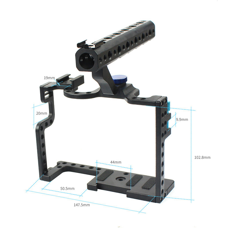 Penstabil kandang kamera, kandang video kamera paduan aluminium untuk - Kamera dan foto - Foto 2