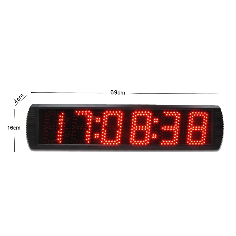 5 quot LED digital big stopwatch large electronic bicycle countdown motorcycle race timer with race timing systerm in Timers from Tools