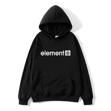 Hot 2019 Autumn Winter Brand Mens Hoodies Sweatshirts Men High Quality ELEMENT Letter Printing Long Sleeve Fashion