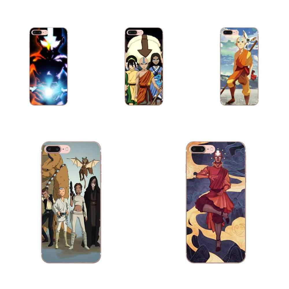 For Apple iPhone 11 Pro X XS Max XR 4 4S 5 5C 5S SE 6 6S 7 8 Plus Unique Shell Transparent TPU Avatar The Last Airbender Soft