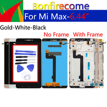 """6.44 """"Originele Display Voor Xiaomi Max LCD Touch Screen Digitizer Met Frame Vervanging Voor Xiaomi Max 1 Beeldscherm"""