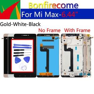 Image 1 - Оригинальный ЖК дисплей 6,44 дюйма для Xiaomi Max, дигитайзер сенсорного экрана с рамкой, сменный дисплей в сборе для Xiaomi Max 1