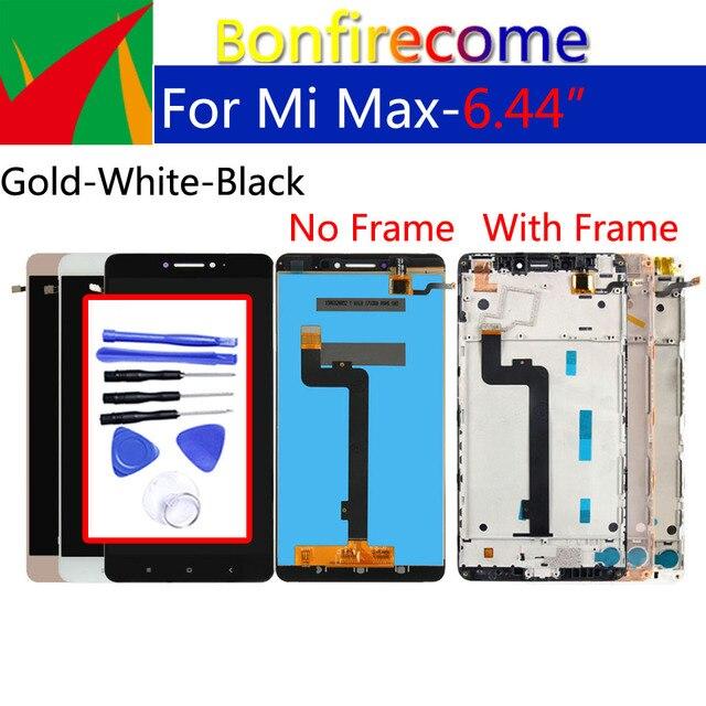Оригинальный ЖК дисплей 6,44 дюйма для Xiaomi Max, дигитайзер сенсорного экрана с рамкой, сменный дисплей в сборе для Xiaomi Max 1