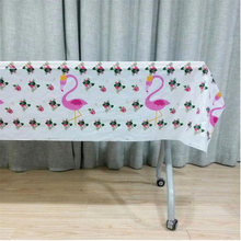 Flamingo Tablecloth Christmas Birthday Party Decorations Home Favors Tablecovers Baby Shower Tableware Supplies