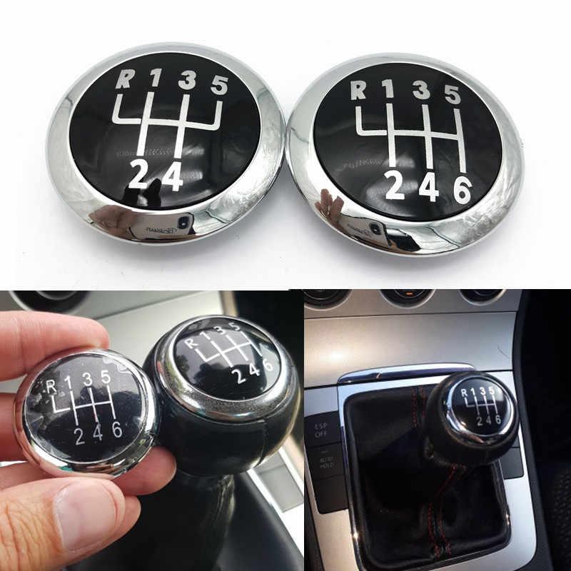 Vites topuzu kapağı amblem rozeti üst Trim kapatma başlığı Volkswagen VW Passat B6 2005-2011 araba Styling aksesuarları