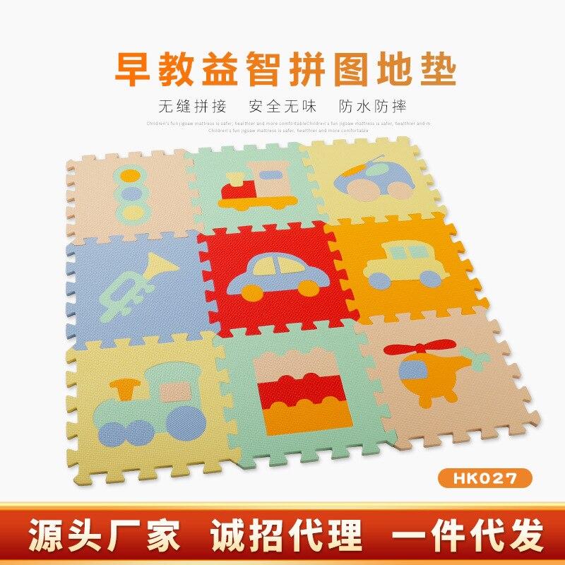 Eva CHILDREN'S Puzzle Joint Foam Floor Pad Home Anti-slip Drop-resistant Baby Environmentally Friendly Crawl Pad