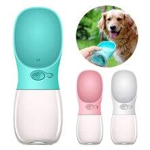 350ml/550ml Portable Pet Water Bottle Drinking Cup Pet Travel Outdoor Kettle Dog Water Bottle Pet Supplies pet glass bottle meter pet preform
