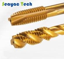 Кобальтовые hsse прямые флейтовые метчики спиральный заостренный
