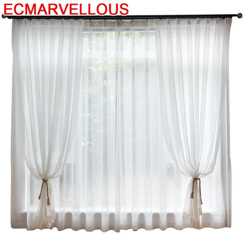 Sheer Cortinados Quarto Cuisine Cocina Vorhang Tende Short Cortinas De Luxo Para Sala Pour Le Salon Luxury Rideaux Curtains