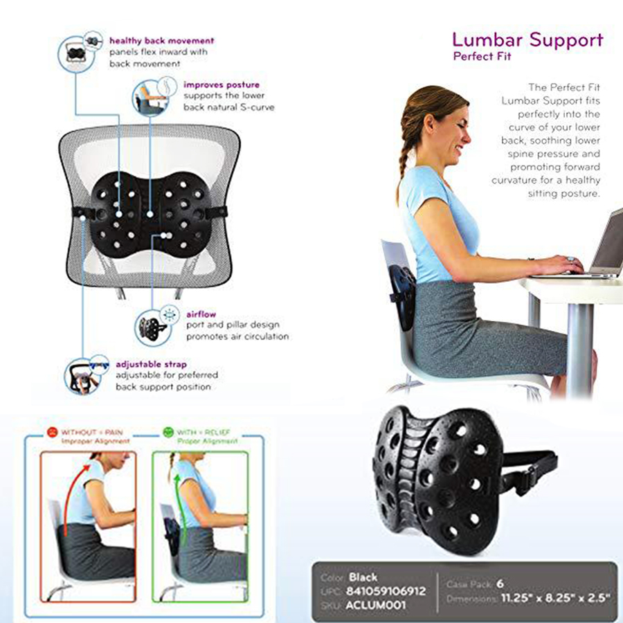 Correct Cervical Vertebra Lumbar Traction Straight Spine Spine Relax Back Massage Board Brace Back Stretching Device Health Care in Braces Supports from Beauty Health