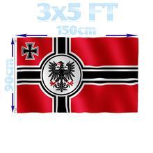 BENFACTORY Store 3x5 футов немецкий y Большой Немецкий Рейх военный Флаг Орел флаг однослойный polyester полиэстер с латунными Люверсами