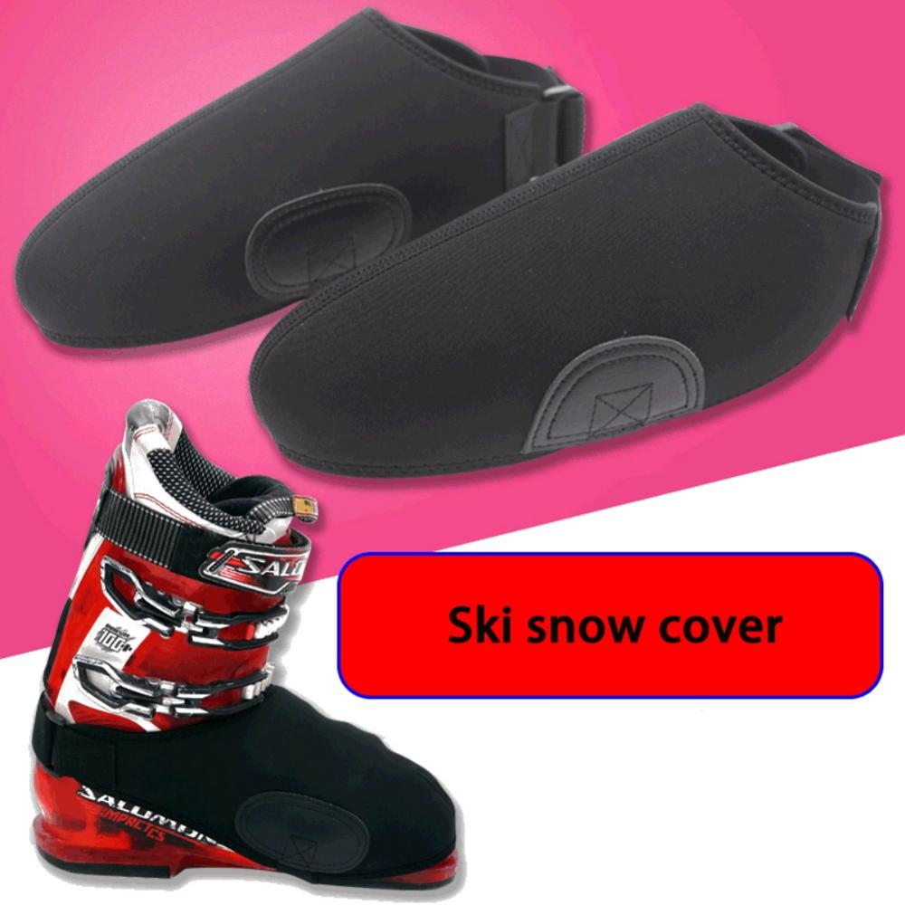 New 1 pair Ski Snowboard Boot Covers Winter Shoe Covers Protector Universal Waterproof Warm Toe Warmers Snow Boots Toe Covers
