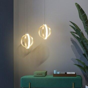 Licán moderno Led Colgante luces para sala De brillo Lamparas De Techo Colgante luminaria Led Colgante lámpara Colgante