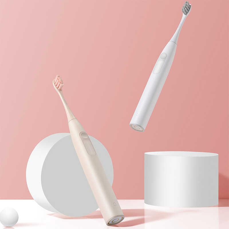 Oclean ZI-cepillo de dientes eléctrico para adulto, versión Global, resistente al agua, carga rápida y automática