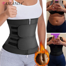 Waist Trainer Sauna Sweat Slimming Belt Modeling Strap for Women Weight Loss Body Shaper Workout Fitness Trimmer Cincher Corset