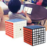 Competition 7th level racing cube Professional Cube 71mm*71mm*71mm Speed For Magic antistress puzzle Sticker For Children adult