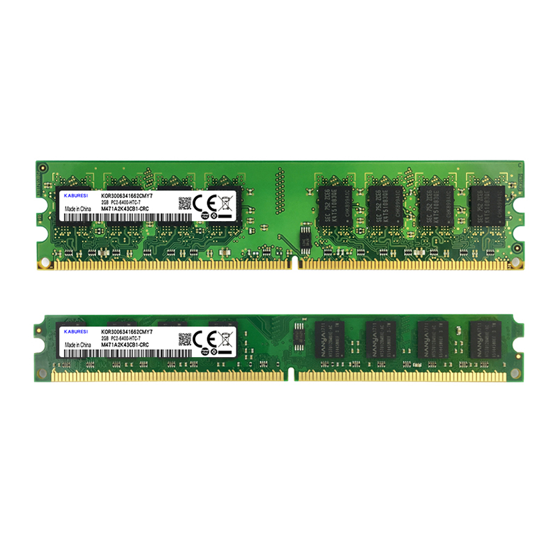Купить с кэшбэком Binful  DDR2 667mhz/800mhz 4GB(Kit of 2,2X2GB for Dual Channel) PC2-5300 PC2-6400 Memory ram for Desktop computer 1.8V