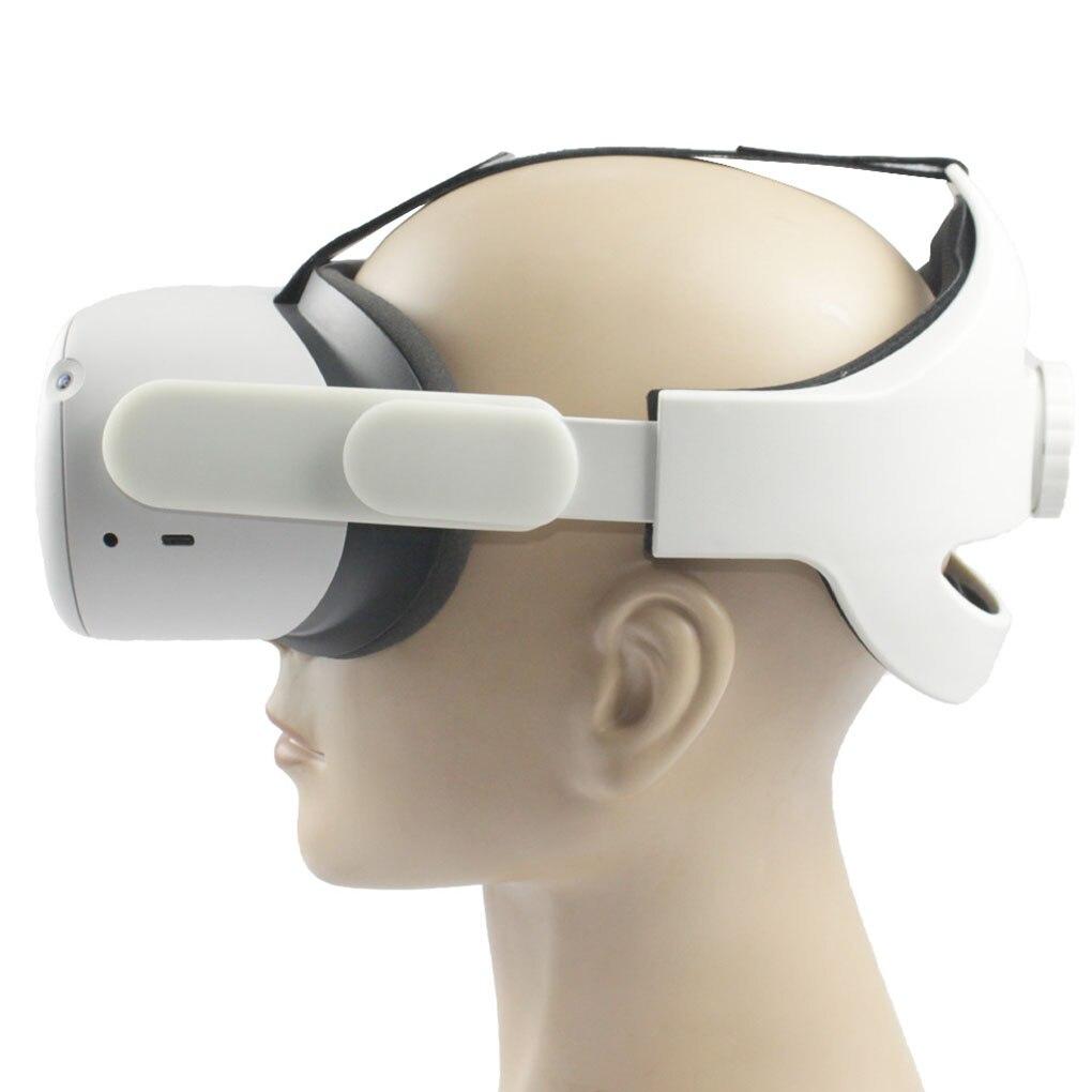 Ajustável para oculus quest 2 cinta de cabeça vr elite cinta conforto melhorar o aumento de acesso de realidade de apoio à força virtual|Óculos 3D/realidade virtual|   -