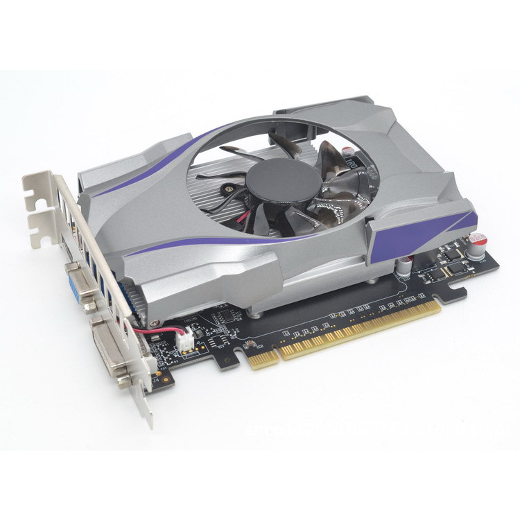 GT730 GDDR5 1GB 128Bit Express Game Video Card Ie Card BTC Mining Video Card with a Cooler Fan for GeForce 2